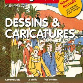 Lou Sourgentin nouvèu es arribat : « dessins et caricatures»