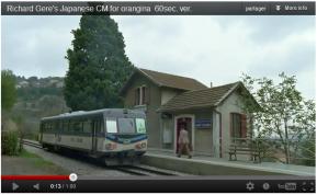 La videò doù dimecre: Richard Gere et le train desPignes