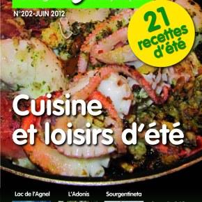Le nouveau Sourgentin est arrivé : « Cuisine et loisirs d'été»