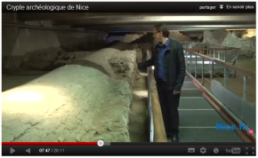 [Istoria] Vidéo de la crypte archéologique des bastions. PlaceGaribaldi