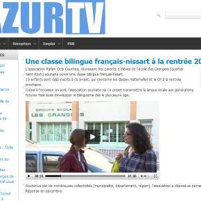 Vidéo: bilinguisme Nissart